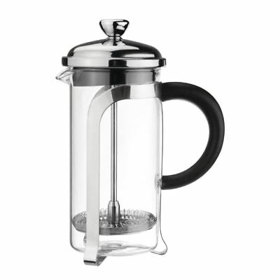Olympia Cafetiere Chrome Finish Coffee Drink Jugs Kitchen Catering Restaurant
