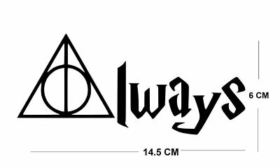 Always Iron on Screen Print for fabric Machine Washable patch harry potter badge