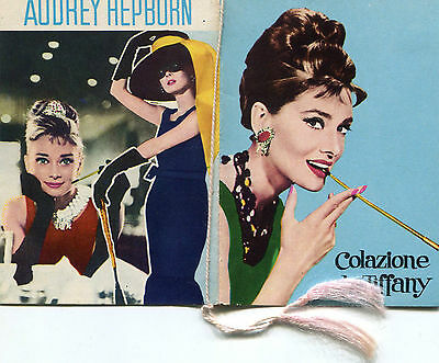 Colazione da Tiffany Breakfast at Tiffany's, CALENDARIETTO AUDREY  HEPBURN RARO!