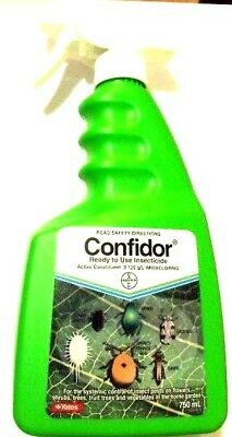 CONFIDOR Ready to Use SYSTEMIC INSECTICIDE 750ml Aphids Thrips Mealy Bug