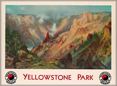 Wyoming Yellowstone National Park United States Travel Advertisement Poster 5