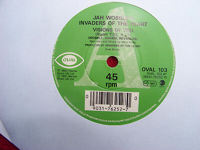 Jah Wobble´s Invaders of the Heart - Visions of you   2 Versionen   Top 45
