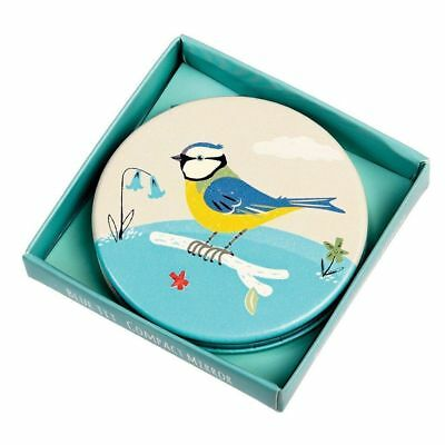 Blue Tit cosmetic mirror - dotcomgiftshop