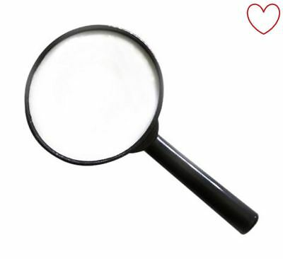 """Magnifying Glass Optical Lens 4"""" 3 X Glass"""
