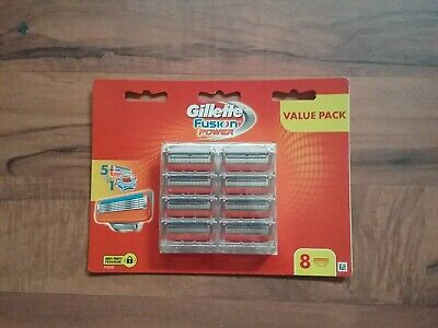 Gillette Fusion Proglide 1 Pack Of 8 Cartridges ( 8 Blades) Genuine