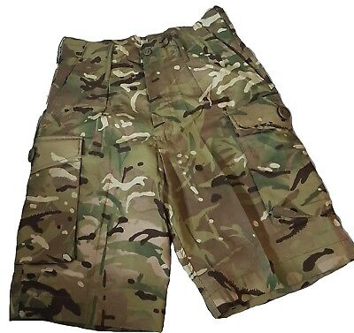 New Genuine British Army Issue Surplus Multicam Combat Shorts MTP Camo All Sizes