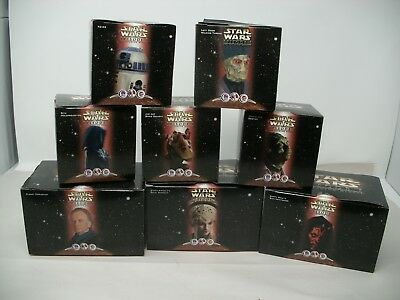 Star Wars Episode 1 KFC, Pizza Hut, Taco Bell kids meal toys set of 8