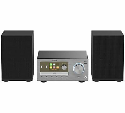 Acoustic Solutions Bluetooth CD micro Hi-Fi System with Wi-Fi.