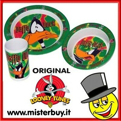 SET PASTO MELANINA DAFFY DUCK 3 pezzi