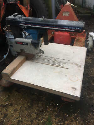 radial arm saw - Ryobi RELISTED DUE TO TIME WASTER NO CONTACT,