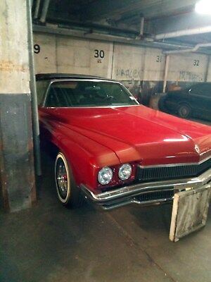 1972 Buick Centurion Red Classic Convertible