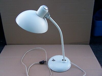 Vintage McGill Circa  1940's Double Swing Pivot Industrial Table Lamp