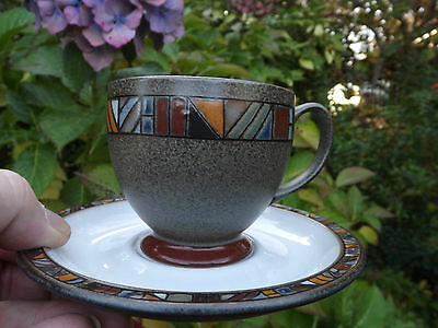 DENBY POTTERY MARRAKESH cup and saucer discontinued tableware pottery 6available - £9.99 | PicClick UK & DENBY POTTERY MARRAKESH cup and saucer discontinued tableware ...