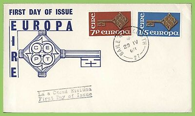 ?Ireland 1968 Europa set on u/a First Day Cover