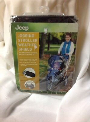 Jeep ‑ Jogging Stroller Weather Shield, Clear