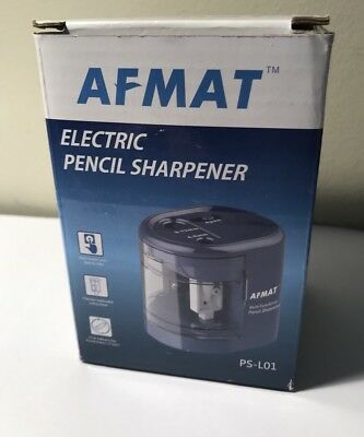 Electric Pencil Sharpener,USB or Battery Operated, Heavy Duty for 6-12mm  Blue