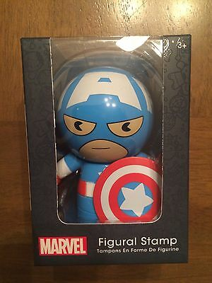 Disney Store Marvel Captain America Figural Stamp (N4)@