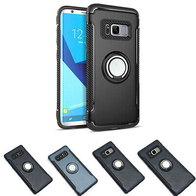 Plus Ring Holder Shockproof Armor Case Cover+For Samsung Galaxy Note 8/S8