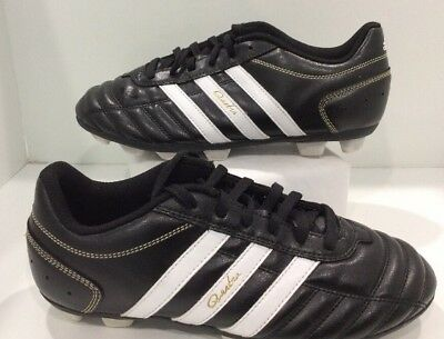 pretty nice 15aba 1a0c3 adidas QUESTRA TRX Soccer Shoes 929280 Black   White Youth Size ...