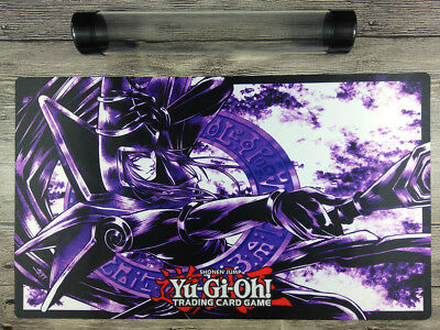 Dark Magician YuGiOh Duel Custom Playmat TCG CCG Play Mat Free High Quality Tube