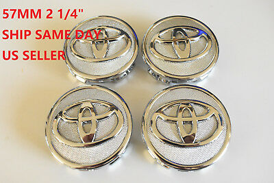 NEW Toyota COROLLA 09-13 Center Caps PRIUS 10-12 Hub Cap YARIS 06-14 emblem 57mm