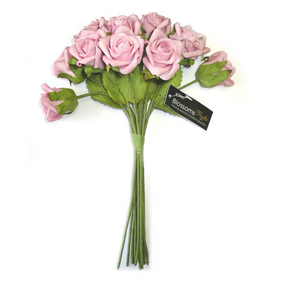 NEW Vivaldi Blossoms Long Stem Foam Roses By Spotlight