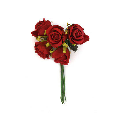 NEW Vivaldi Blossoms 7 Head Foam Rose Bunch By Spotlight