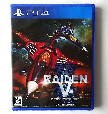 RAIDEN V DIRECTORS CUT Limited Edition  [ Moss ] Sony PlayStation 4 Japan NEW