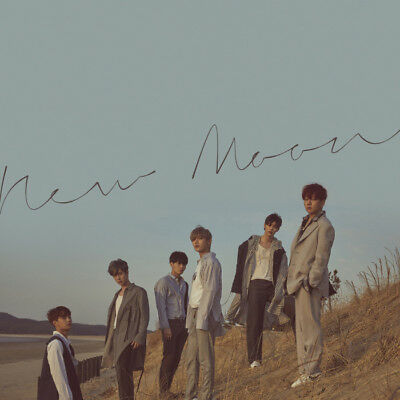 JBJ [NEW MOON DELUXE EDITION] Album CD+POSTER+Photo Book+2p Card+Book Mark+Paper