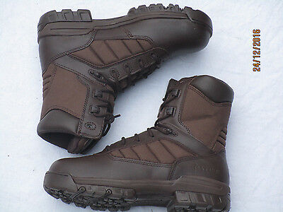 Bates Boots Patrol Brown Male, Size 9 M (EU43/US 10) Brown Boots, MTP