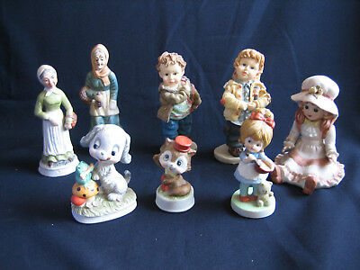 10 China Ornaments - Ceramic Ornaments - Assorted - Display - W267
