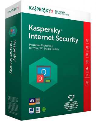 Kaspersky Internet Security 2018 licenza completa 1 anno windows mac android