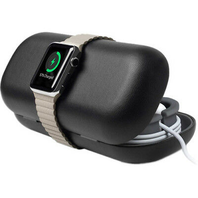 Twelve South Apple Watch TimePorter Travel Case Charging Stand Black TM