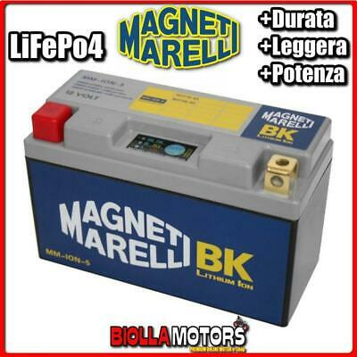 Mm-Ion-5 Batteria Litio 12V 15Ah Yt9B-Bs Yamaha Tmax T-Max 500 2006- Magneti Mar