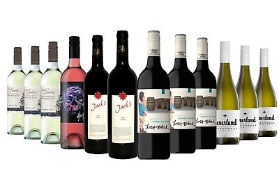 $99 Delivered 5 Star Red Wine & White Mixed 12x750ml RRP $229 Free Shipping