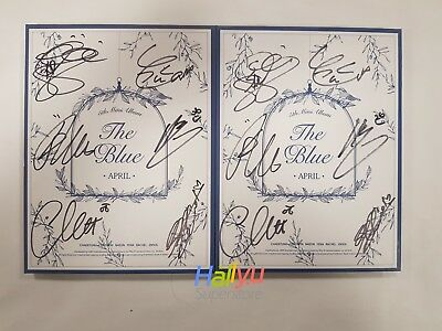 """APRIL """"The Blue"""" 5th Mini - Autographed (Signed) Promo CD (Updated 4-12)"""
