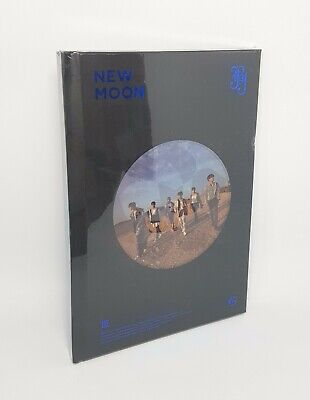 JBJ - NEW MOON (Deluxe Edition) CD+Photobook+2p Photocard+Bookmark+Papers Stars