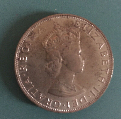 1964 One Bermuda Crown coin