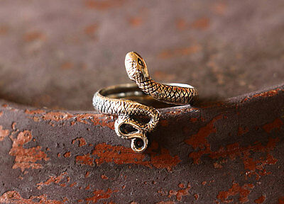 Snake Toe Ring Sterling Silver New Jewelry Adjustable Shipping Included