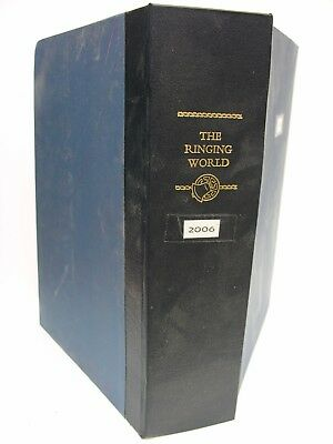 THE RINGING WORLD MAGAZINE 2006 Complete Year in Folder 49 Issues Campanology