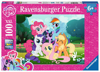 10935 Ravensburger My little Pony XXL Jigsaw 100pcs Puzzle Children Girls 6+