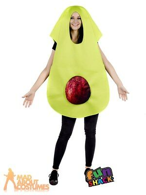 Adult Avocado Costume Funny Fruit Fancy Dress Outfit Mens Womens Stag Hen Party  sc 1 st  PicClick UK & MENS ANITA WAXIN Costume Adult Stag Baywatch Lifeguard Funny Fancy ...