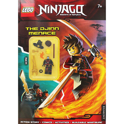 Lego Ninjago - Activity Book with Minifigure (Paperback), Children's Books, New