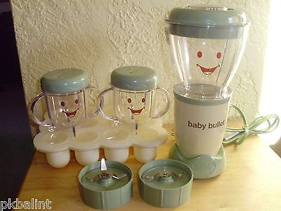 Baby Bullet Magic Bullet Blender + Accessories Homemade Baby Food Processor