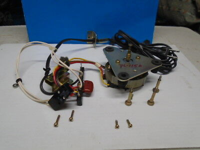 Pioneer PL-115D Turntable Motor PXM-041-0 50/60Hz 120/240VAC Used Parts