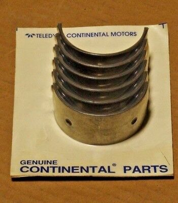 Continental Aircraft Eng 0.470-A Engine Lj Crankshaft Bearings 530386