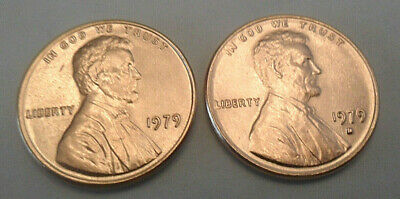 1979 P & D Lincoln Memorial Cent / Penny Set  **FREE SHIPPING**