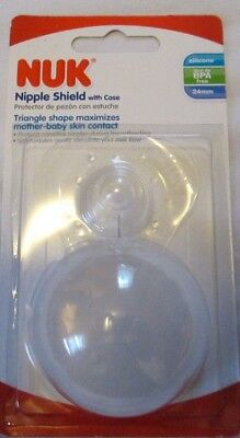 Nuk Nipple Shield With Case 24 Mm Silicone Bpa Free Brand New