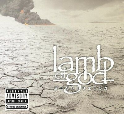 Lamb Of God - Resolution  Explicit Version (CD Used Like New) Explicit Version