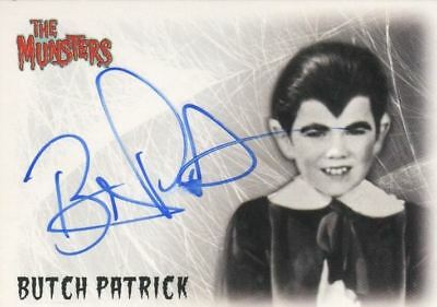 Munsters (2005) Butch Patrick as Eddie Munster Autograph Card A1